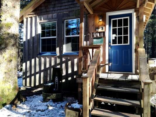 Les cabanes du Millane's Serenity by the sea cabins à Sewart, en Alaska.