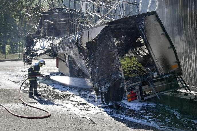 « Six départs de feu » ont été constatés sur le lieu de l'incendie de l'abattoir de Haut-Valromey, le 28 septembre.