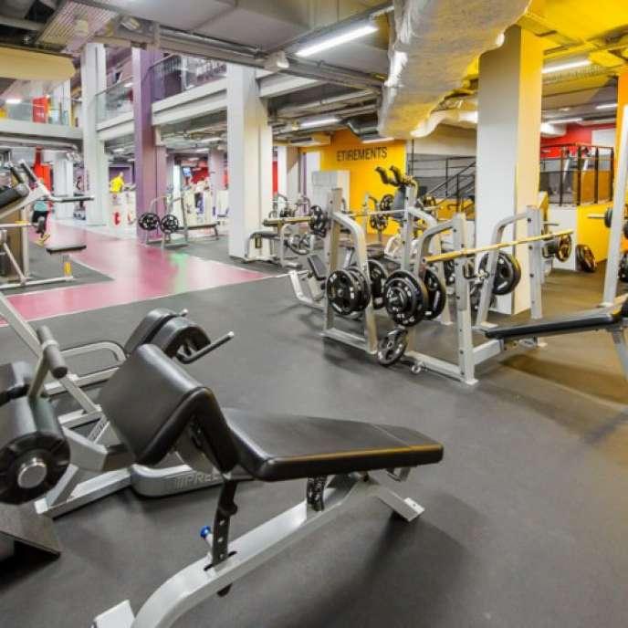 Salle de sport Neoness à Paris.