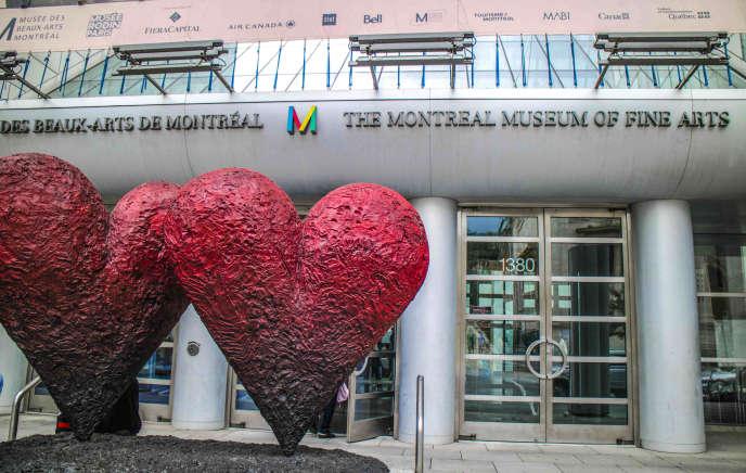 Le Musée des beaux-arts de Montréal, qui accueille, notamment, un atelier« art-thérapie» de 3600 m2.