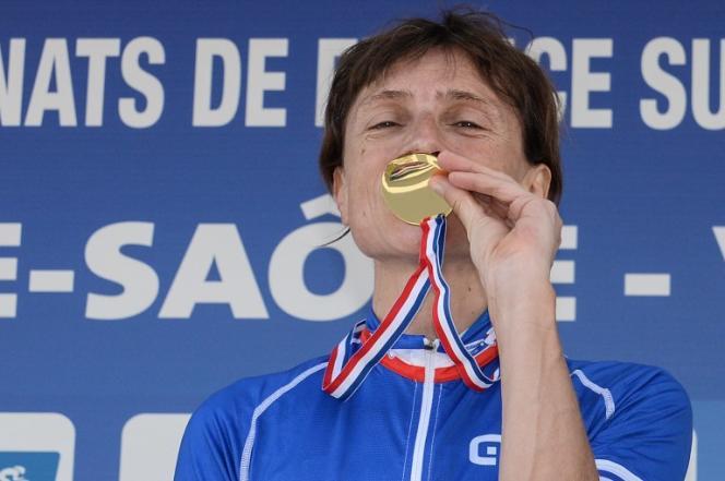A Vesoul en 2016, Edwige Pitel avait remporté à 49ans un quatrième titre de championne de France (deux fois contre-la-montre, deux fois en ligne).