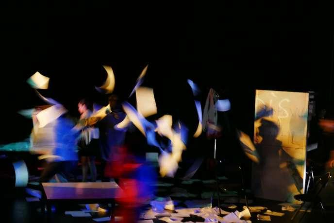 «En réalités», dans une mise en scène d'Alice Vannierd'après «La Misère du monde»,de Pierre Bourdieu.