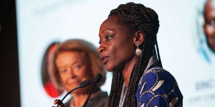 Hafsat Abiola, la nouvelle présidente de Women in Africa, à Marrakech.