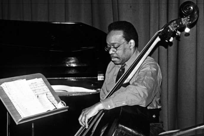 Wayne Dockery au Jazz Festival de Saint-Ingbert, en Allemagne, en 1990.