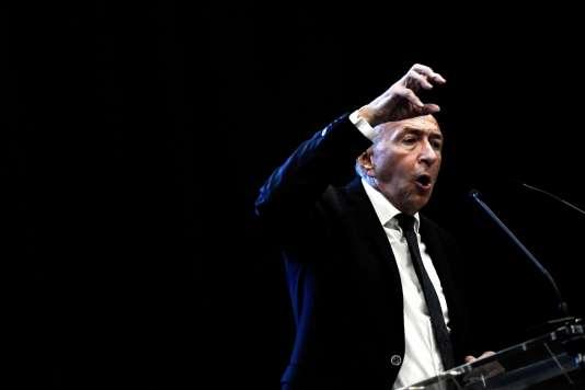 Gérard Collomb, à Lyon, le 29 septembre.