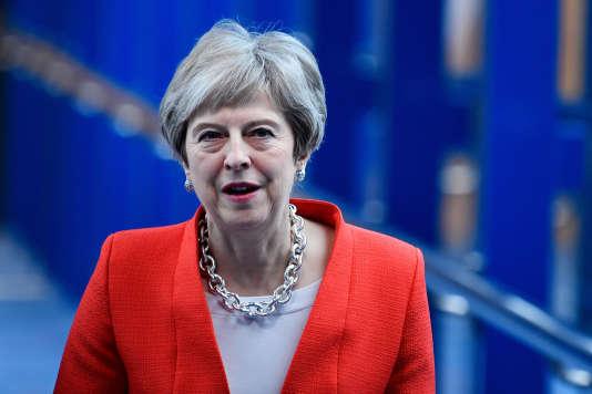 Theresa May, à Birmingham, le 30 septembre.