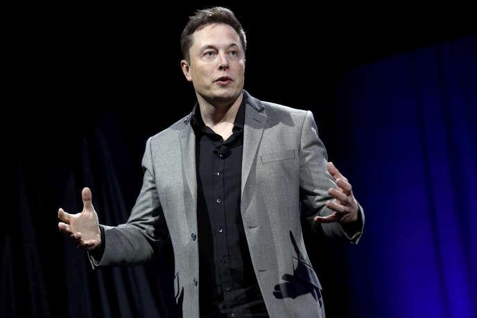 Elon Musk, le fondateur de Tesla, à Hawthorne, en California, le 30 avril 2015.