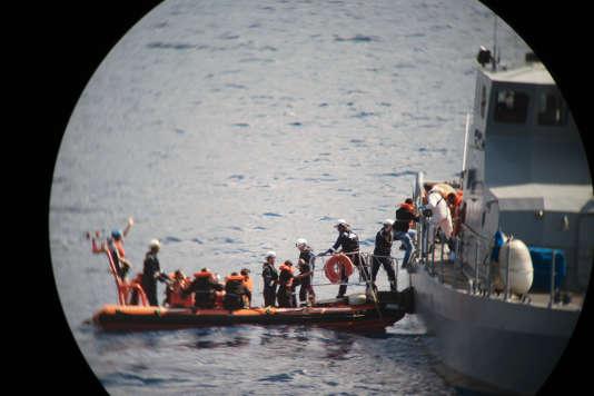 Le 30 septembre, les 58 rescapés de l'«Aquarius» sont transférés vers l'archipel de Malte. Ici une vue du pont du P52 de la flotte maltaise.