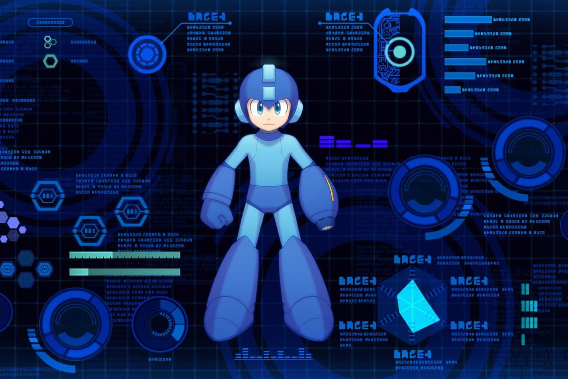 La science est formelle : Megaman porte son slip au-dessus de sa combinaison.