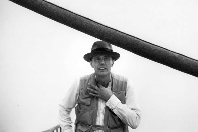 Joseph Beuys, en 1982.