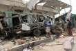 Après un bombardement de la coalition menée par l'Arabie saoudite, dans la province de Saada (Yémen), le 10 août 2018.