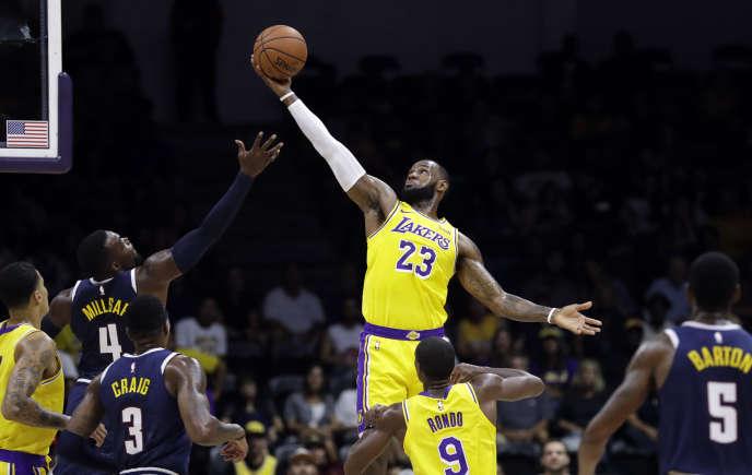 LeBron James, c'est quatre titres de meilleur joueur de la saison régulière de NBA, trois titres de MVP des finales, et deux titres olympiques.