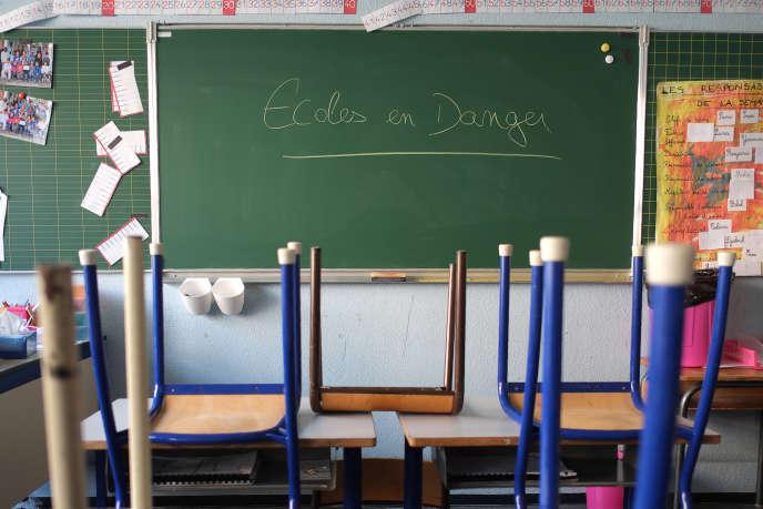 A l'école primaire Jean-Perrin de Marseille, le 8 février 2016.