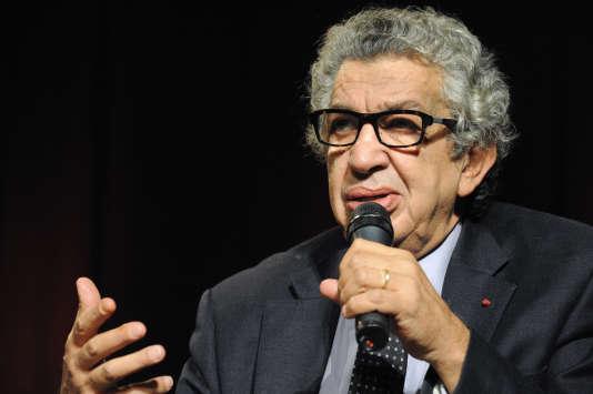 Le spécialiste du monde arabe et musulman Antoine Sfeir, ici en septembre2012, est mort à l'âge de 70ans.