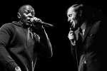 Dr Dre et Charles Aznavour.