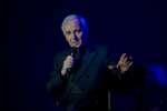 Charles Aznavour, le 23 novembre 2018.