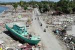 Les dégâts à Palu, un ville des Célèbes dévastée par le séisme du 28 septembre 2018.