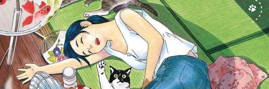 «La Fille du temple aux chats».