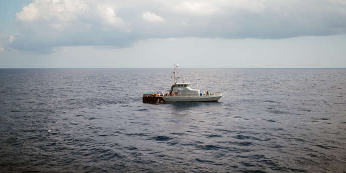 Le 30 septembre 2018. Les 58 rescapés sont transférés de l'Aquarius vers l'île de Malte depuis les eaux internationales via les autoriités maltaises.