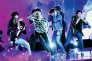 Le septuor sud-coréen BTS exprime aussi, dans ses morceaux, les affres de l'adolescence.Ici, aux Billboard Music Awards à Las Vegas, le 20 mai.