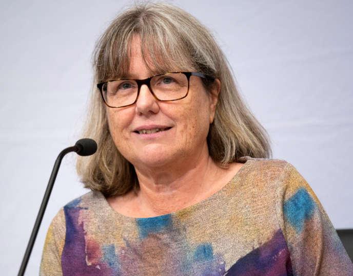 Donna Strickland, Prix Nobel de physique 2018.