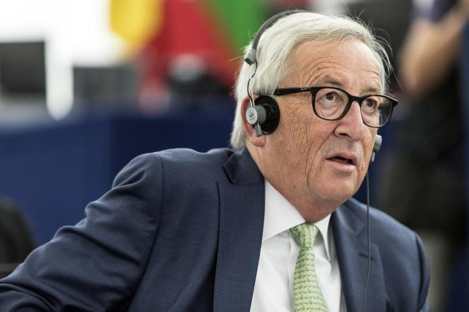 Le président de la Commission européenne, Jean-Claude Juncker, le 2 octobre à Strasbourg.