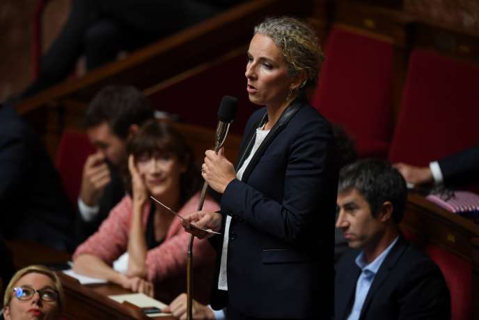 Delphine Batho, le 2 octobre à l'Assemblée nationale.