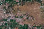 En Indonésie, Petobo, proche de Palu, ravagé par le séisme de septembre 2018.