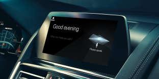 Le «BMW Intelligent Personal Assistant» (Assistant Personnel Intelligent).