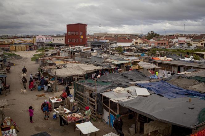 Le centre de soins Lizo Nobanda de Médecins sans frontières dans le township de Khayelitsha, près du Cap, en Afrique du Sud.