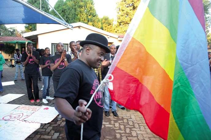 L'association Gays et Lesbiennes du Zimbabwe a constaté une diminution du nombre d'actes homophobes depuis l'élection d'EmmersonMnangagwa, .