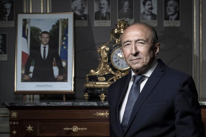 Gérard Collomb, au ministère de l'intérieur, le 24 août.