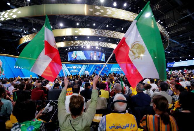 L'attentat déjoué visait le rassemblement du conseil nationale de la résistance iranienne qui s'est tenu à Villepinte (Seine-Saint-Denis) le 20 juin.