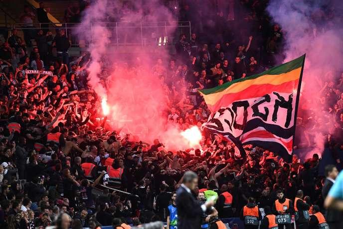 Le PSG est visé par une enquête de l'UEFA pour l'usage de fumigènes par ses supporteurs dans l'enceinte du Parc des Princes le 3 octobre.