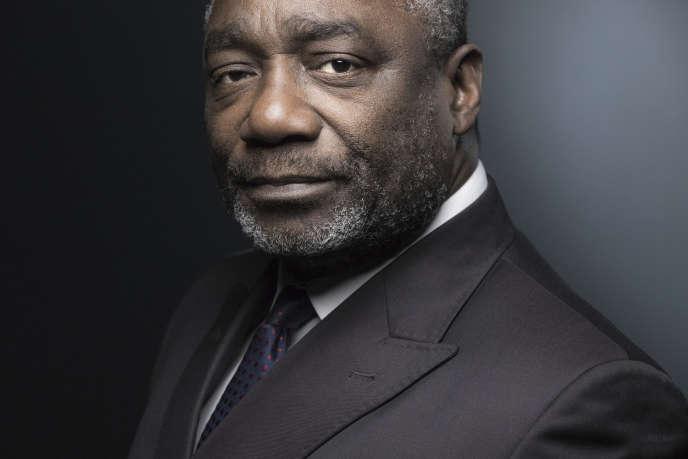 Le général congolais Ferdinand Mbaou, à Paris, le 21 septembre 2018.