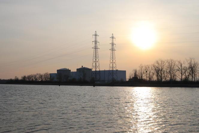 La centrale nucléaire deFessenheim, le 27 février 2018.