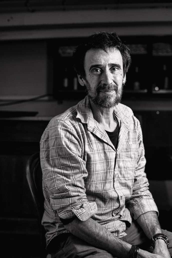 Xavier Mathias formateur en agriculture bio.