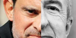 Manuel Valls et Gérard Colomb.