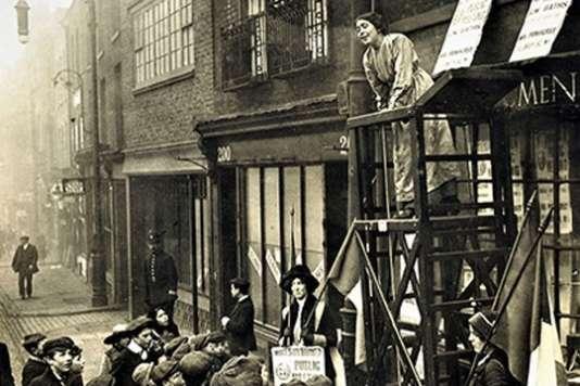 Le combat des suffragettes avec Sylvia Pankhurst.
