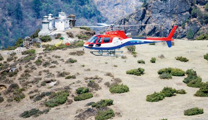 Les autorités népalaises ont identifié une quinzaine d'entreprises ayant participé à cette escroquerie et ont proposé que les opérations de secours soient coordonnées par la police népalaise.