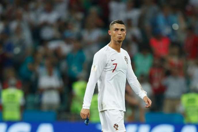 Cristiano Ronaldo lors de la Coupe du monde en Russie, le 30 juin.