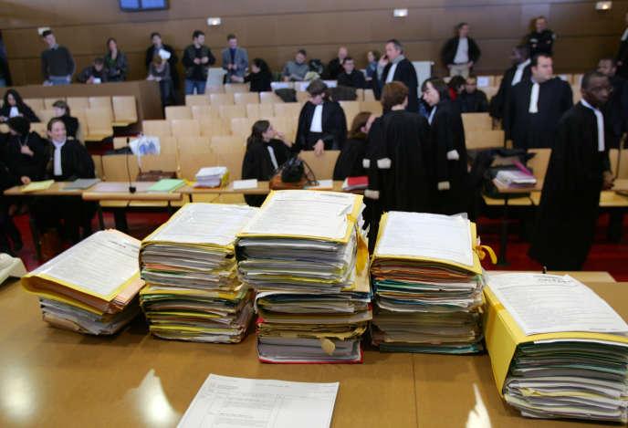Au tribunal correctionnel de Bobigny, le 22 janvier 2007.