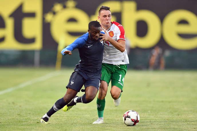 International espoir, Tanguy Ndombele a été appelé par Didier Deschamps pour jouer avec les Bleus.