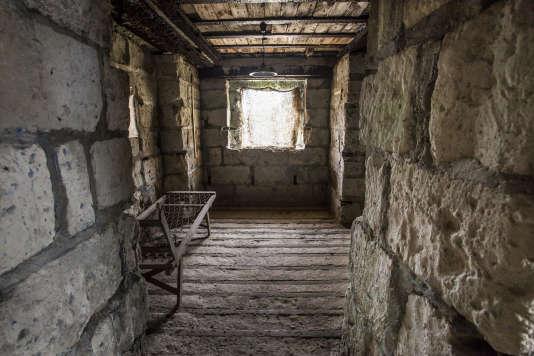 Une chambre située à l'étage de l'abri du Kronprinz.