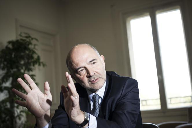 Pierre Moscovici, commissaire européen, à Paris, le 3 octobre.