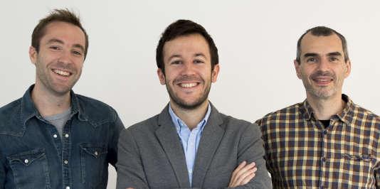 L'équipe d'Acinq a levé 1,4 millions d'euros jeudi 4 octobre.