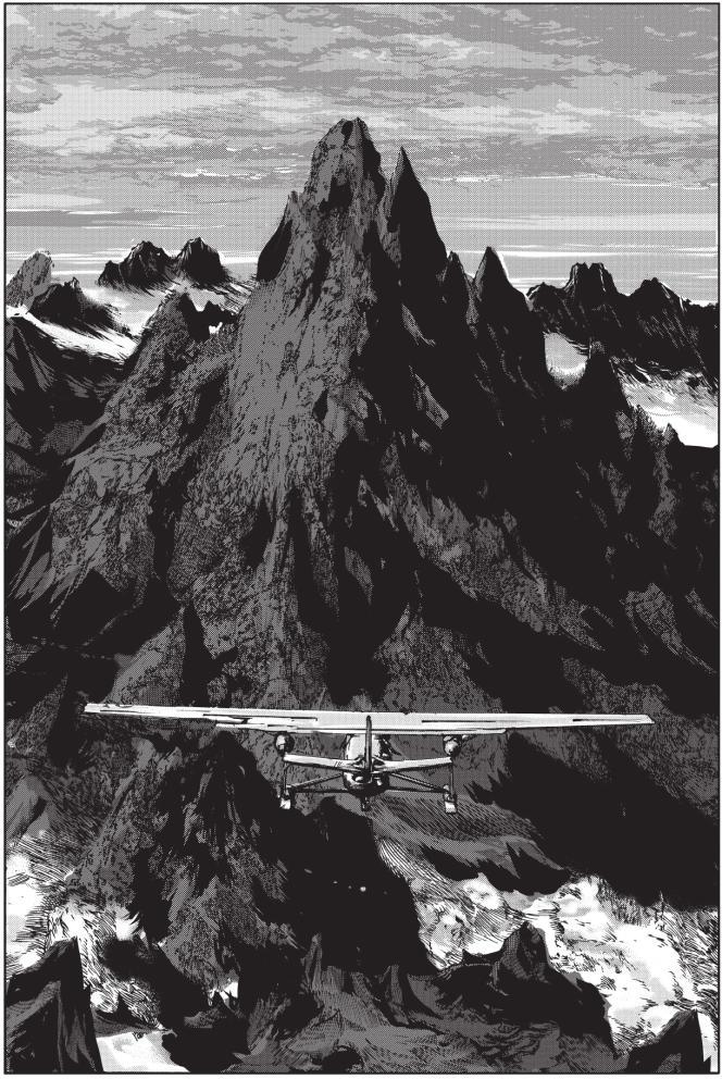 «Les Montagnes hallucinées».
