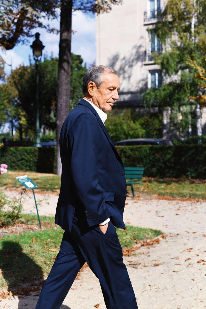 Francis Vallat, président de l'association SOS Méditerranée, à Paris, le 1er octobre.