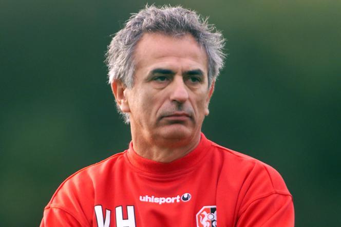 Vahid Halilhodzic lorsqu'il entraînait Rennes, le 15 octobre 2002.