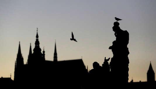 Le Chateau médiéval, à Prague